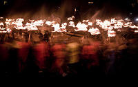 #MysteriousFigureInWindow watches #Vikings #PlayingWithMatches at #UpHellyAa
